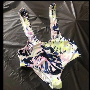 Victoria's Secret swim suspenders